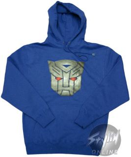 Transformers Movie Autobots Logo Hoodie Hooded XXL Bot