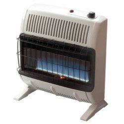 NEW Mr Heater 30 000 BTU Propane Blue Flame Vent Free Heater