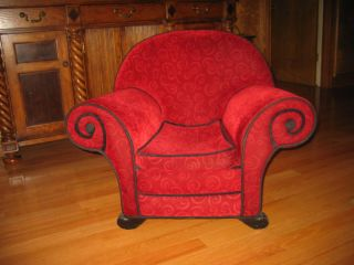 blues clues thinking chair for sale. Blues Clues Thinking Chair Plush Upholstered Real Furniture Child Size For Sale