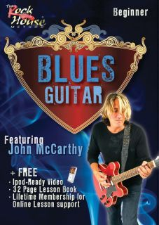 Rock House Blues Guitar Beginner Featuring John Mccarth