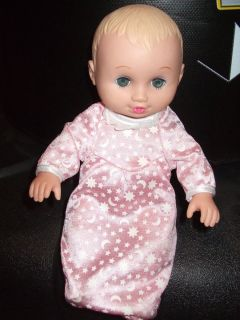Lauer Water Baby Doll 1995 8 Blue Eye Shadow Jacuzzi Pool Toy Bath