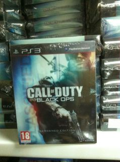 Call of Duty Black Ops Hardened Edition Sony Playstation 3 2010