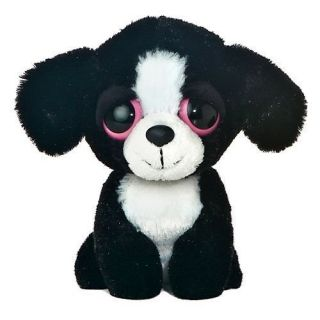 Cute Black Pink Eyes Mini Plush Cartoon Dog Puppy 6 K9