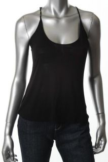 Daniel Rainn New Black Spaghetti Strap Scoop Neck Cami Tank Top Shirt