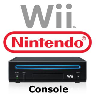Brand New Genuine Black Nintendo Wii Game System Console Replacement w