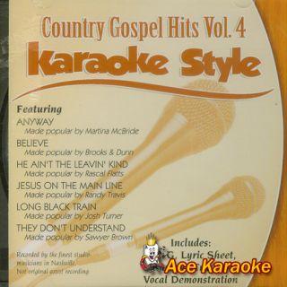 Daywind Karaoke Style CDG 3194 Country Gospel Hits 4