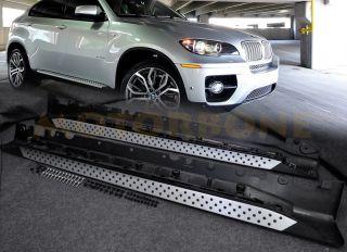 08 12 BMW x6 E71 E72 Side Step Nerf Bar Rail Running Board Direct