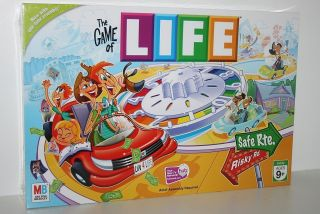 The Game of Life Board Game New