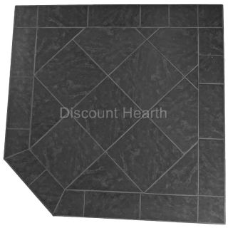 36 40 48 54 Wood Pellet Stove Board Hearth 2 4 R Value Stardust