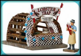 Lobster Trap Boardwalk Booth NEW Department Dept. 56 Christmas In The