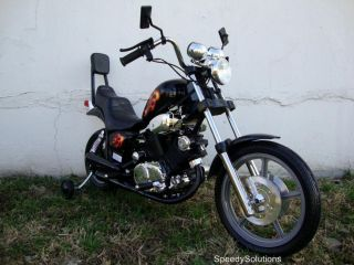 Kids Electric Battery Power Ride on Motorcycle Harley 15 Wheels Motor