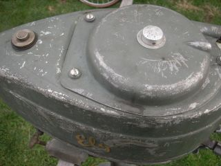 ELGIN OUTBOARD MOTOR VINTAGE ANTIQUE BOAT MOTOR  ROEBUCK CO