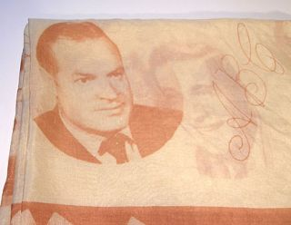 CIGARETTES ADVERTISING SCARF BING CROSBY BOB HOPE PERRY COMO