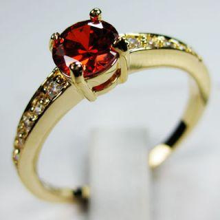 sz9//Jewellery Bland new amethyst/ruby/topaz ladys 10KT yellow Gold