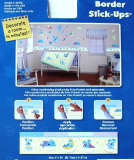 Blue Clues Sweet Dreams Graphic 15 ft Wall Paper Border New