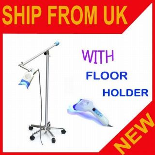 FLOOR HOLDER DENTAL TEETH BLEACHING WHITENING LED LAMP LIGHT