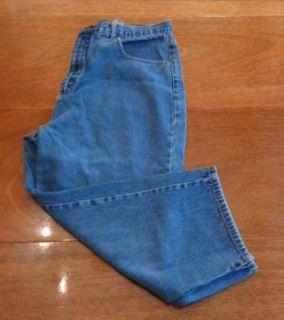 Bill Blass Womens Capris Blue Size 14