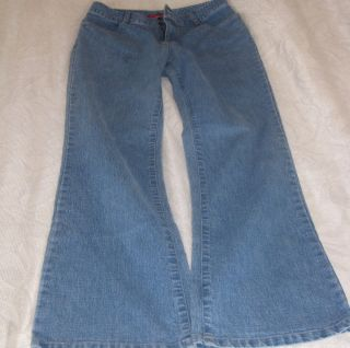 Bill Blass Ultra Fit Flares Jeans Stretch Misses Size 6