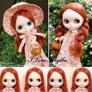 Shop Exclusive Takara Neo Blythe Doll Prairie Posie SALE