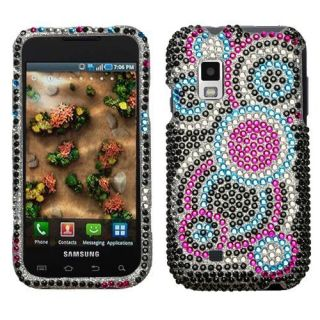 Pink Bubble Diamond Bling Rhinestone Case Cover Galaxy S Samsung