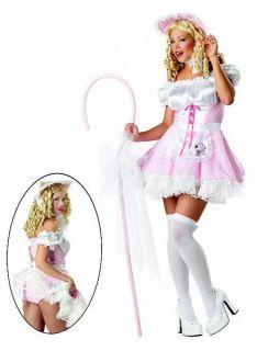 New Women Little Bo Peep Naughty Sexy Storybook Costume