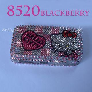 Bling Crystal Diamond Hard Case Cover Blackberry Curve 8520 8530