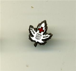 canadian red cross blood donor pin 5