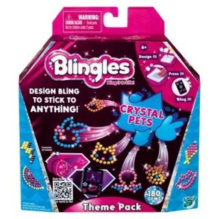 New Blingles Theme Pack Crystal Pets in Hand Fast Shipping