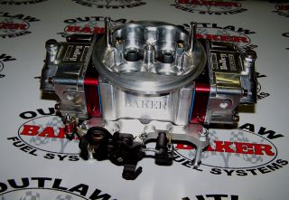 Baker Ultra Pro Series Billet Outlaw Blow thru Carburetor Holley Drag