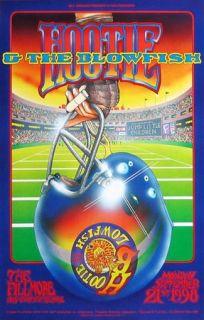 Hootie The Blowfish Original 1998 Concert Poster Bill Graham Presents