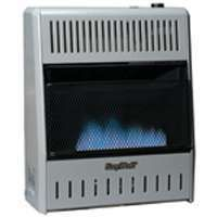 Blue Flame Natural or Propane Gas Heater 10K Vent Free