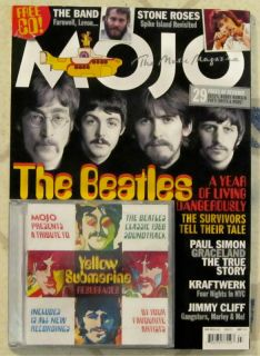 Mojo Magazine CD July 2012 Beatles Yellow Submarine Kraftwerk Stone