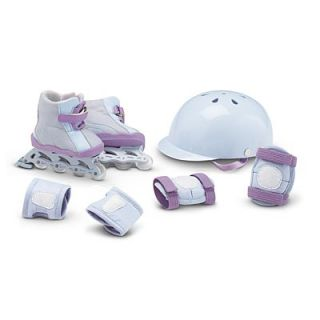 New American Girl Today Skates Safety Set JLY