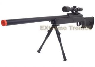 NEW CYMA ZM51 Airsoft Bolt Action Spring Powered Sniper Rifle w/ Scope