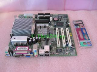 Dell 7W080 07W080 Dimension 2350 Socket 478 Motherboard BLUFORD2