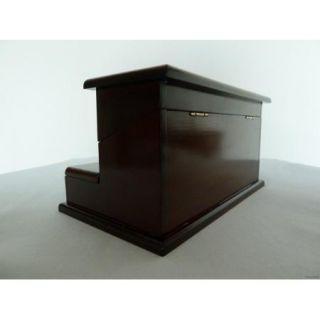The Bombay Company Dark Wood Trinket/Jewelry Box   Very Beautiful