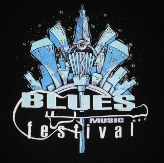vtg 1992 Blues Music Festival B.B. King Buddy Guy Dr. John USA 2 sided
