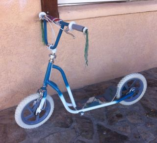 BMX Kick Scooter Vintage Freestyle Old School Trick Bike Curb Cruiser