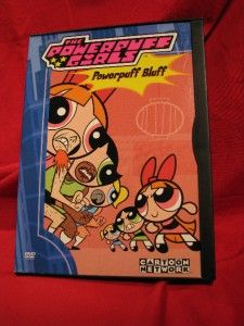 Cartoon Network The Powerpuff Girls Powerpuff Bluff DVD 2000