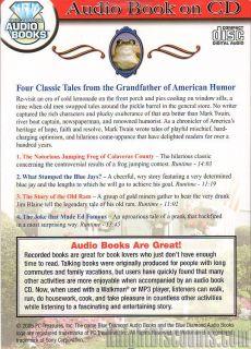 8x MARK TWAIN SHORT STORIES Audio Books on 2x CDs   Brand New   Sealed