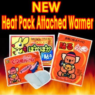 Heat Pack Pad Attached Ski Camp Board Fishing Winter Outdoor