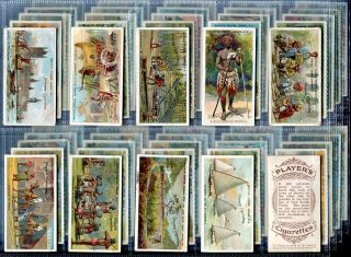 Tobacco Card Set John Player British Empire Series Culture Dress 1904