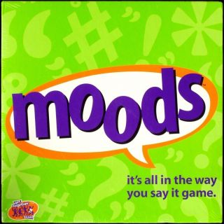 Moods Board Game Factory SEALED Complete