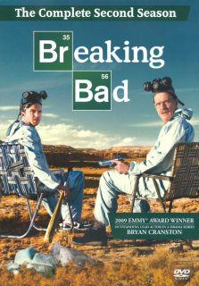 Breaking Bad The Complete Second Season 2 DVD 2010 4 Disc