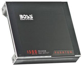 Boss PH1500M 1500W Mono A B Car Audio Power Amplifier Amp w Remote Sub