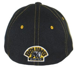 BOSTON BRUINS NHL HOCKEY UPPERCUT FLEX FIT FITTED HAT/CAP XL NEW