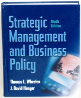 Strategic Management Business Policy 9th Edition 0131421794