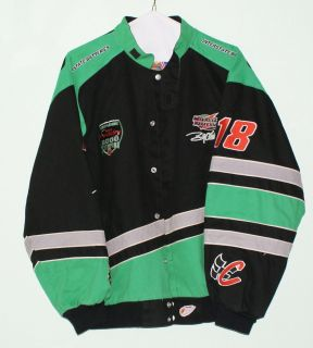 NASCAR Bobby Labonte 18 Interstate Batteries Jacket 2000 Winston Cup