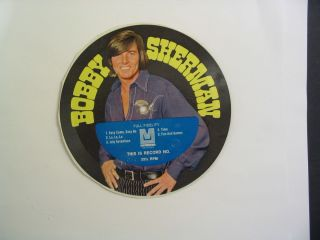 Bobby Sherman Cereal Box Cardboard Record Time 4