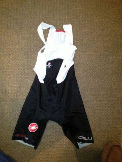 Castelli Mens Body Paint 2.0 bib shorts 2012 (mens medium)